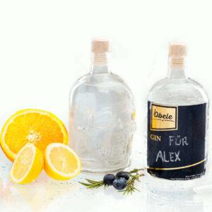 Gin Totenkopf 2 Flaschen