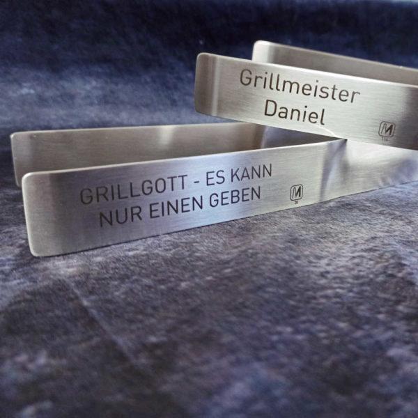 Grillzangen Beispiele Grillmeister Bild