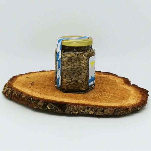 Honigge Nuss Sonnenblume Seitenansicht 2