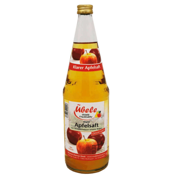 Apfelsaft klar bearbeitet 10Liter