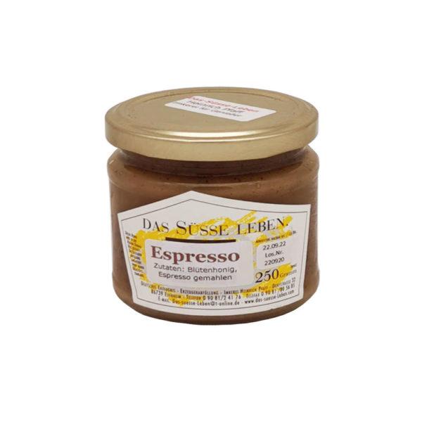 Bluetenhonig Espresso Das Suesse Leben Ries