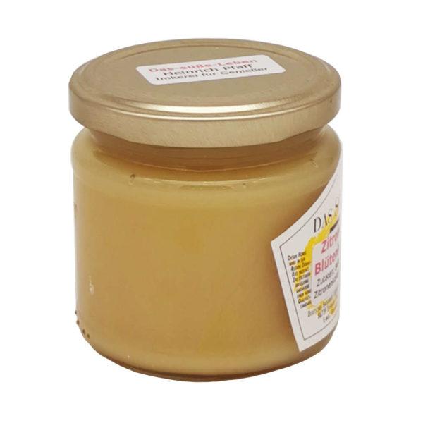 Boeuetenhonig Zitrone Das Suesse Leben Seitenansicht