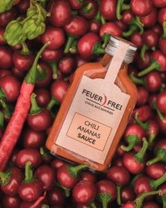Chili Sauce FEUER FREI regionale Produkte