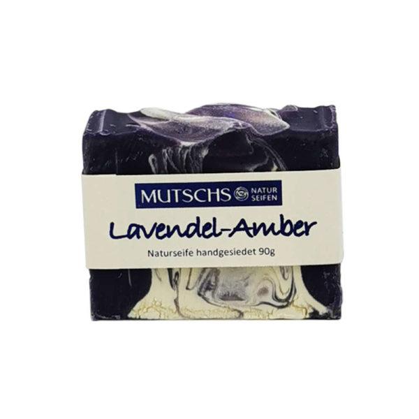 Mutsch Naturseifen Lavendel Amber handgesiedet