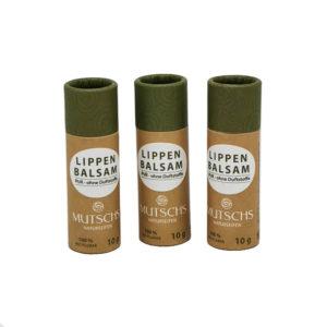 Mutsch Naturseifen Lippenbalsam PUR ohne Duftstoffe