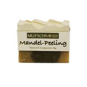 Mutsch Naturseifen Mandel Peeling handgesiedet