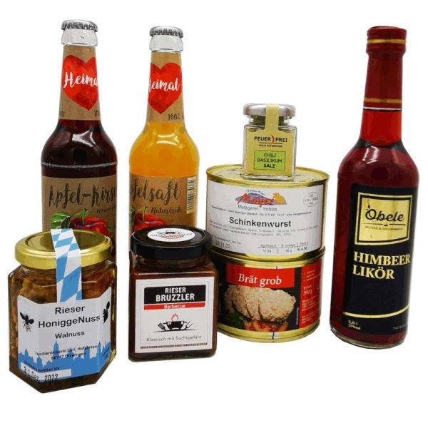 Regionale Produkte Starterpaket Geschenkset Geschenk