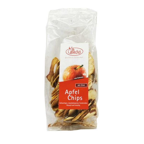 Manufaktur Broeg Trockenobst Apfel Chips mit Zimt Lindau