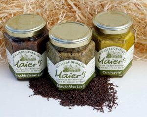 Produkte Senf Maiers Genuss