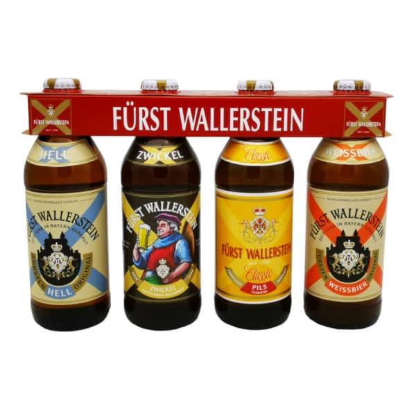 Furesten Wallerstein 4er Steige Bier gemischt