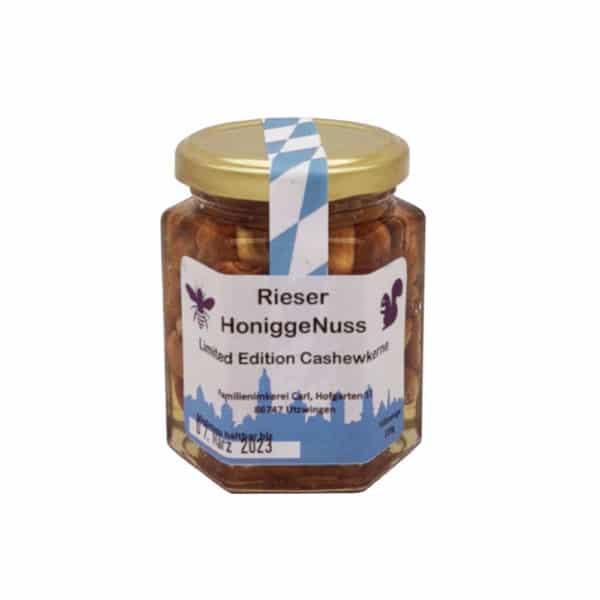 Honigge Nuss Limited Edition Imkerei Carl Utzwingen 250Gramm Cashewkerne