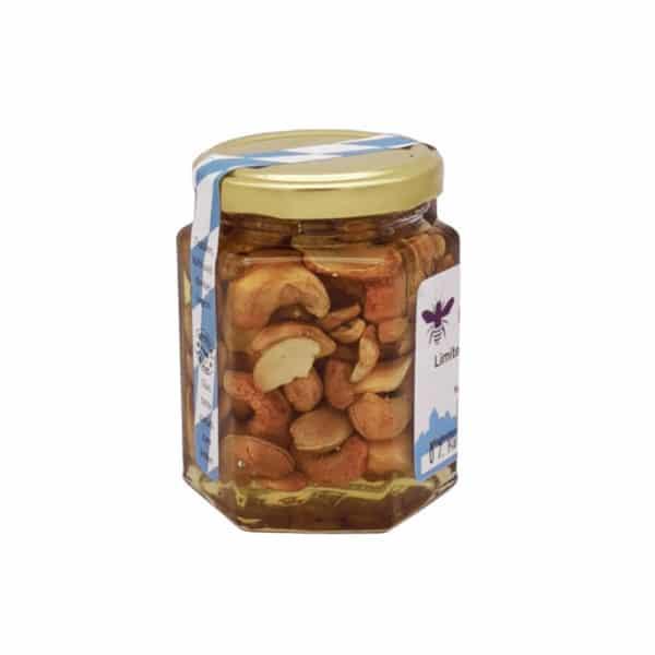 Honigge Nuss Limited Edition Imkerei Carl Utzwingen 250Gramm Cashewkerne Seitenansicht