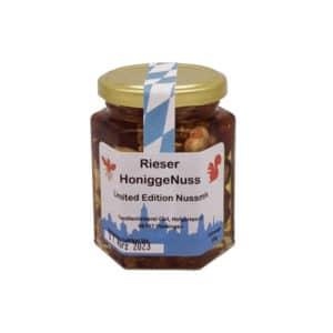 Honigge Nuss Limited Edition Imkerei Carl Utzwingen 250Gramm gemischt
