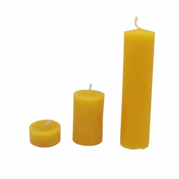 Jagsttalimkerei Kerzen alle 3 zusammen