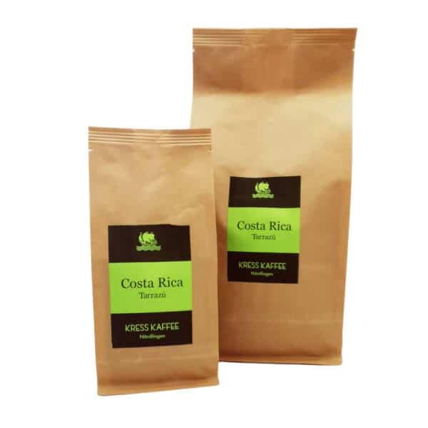 Kress Kaffee Costa Rica zusammen