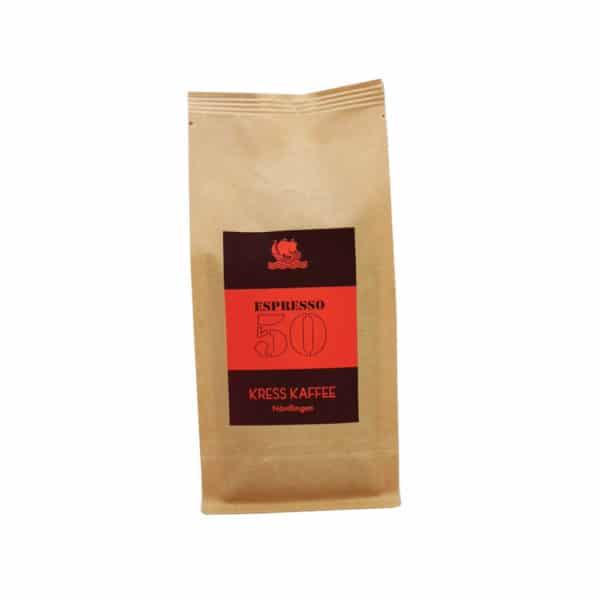 Kress Kaffee Espresso 50 250 Gramm Packung