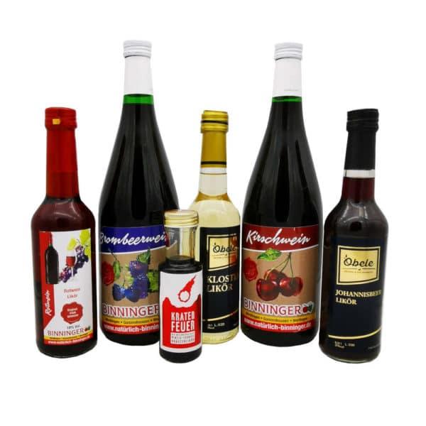 Regional Fair Geschenkkorb Schnapsdrossel 6 Produkte