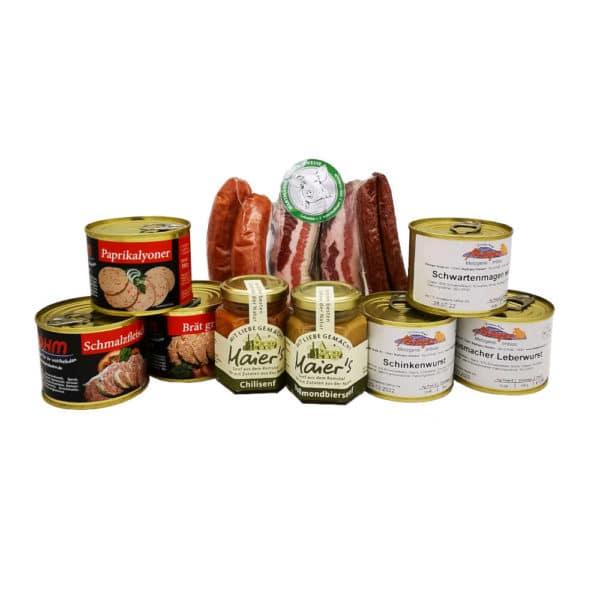 Regional Fair Geschenkkorb Was Deftiges 11 Produkte