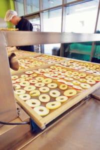 Broeg Trockenfruechte Produktion Apfelchips Apfelscheiben 1