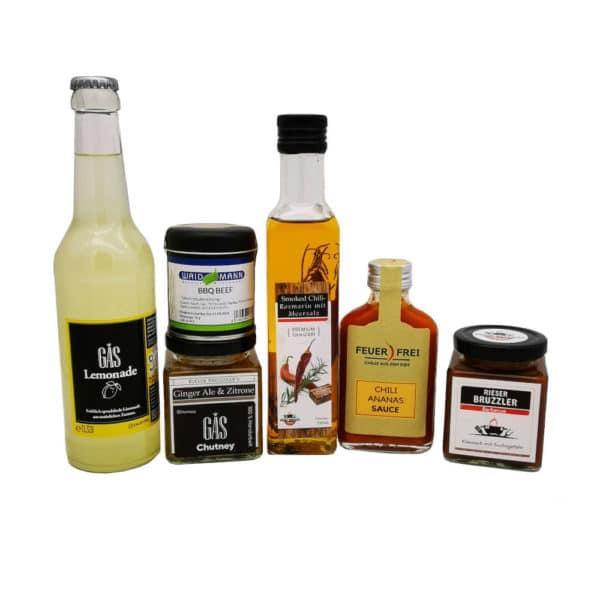 Regional Fair Geschenkkorb BBQ 6 Produkte