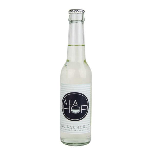 Alahop die Weinschorle Weisswein mit Wasser