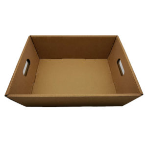 Geschenkkorb leer rechteck gross