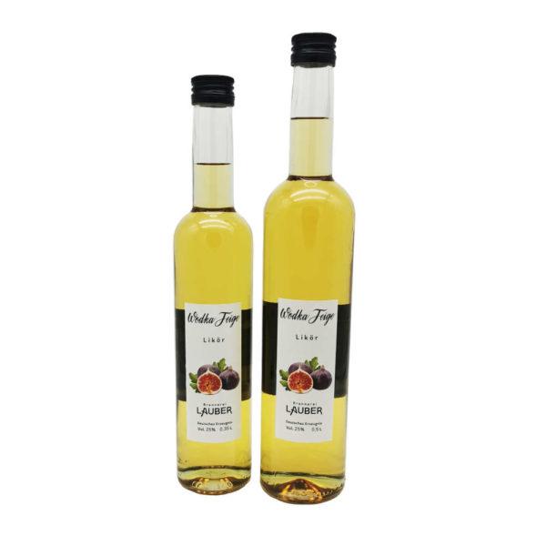 Brennerei Lauber Wodka Feige zusammen