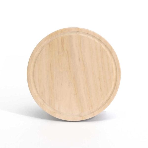 Holzbrettchen SMB Rund Moll Holzdesign hochkant