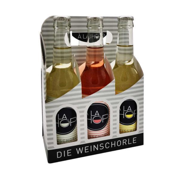 Alahop Weinschorle 6er Tragerl