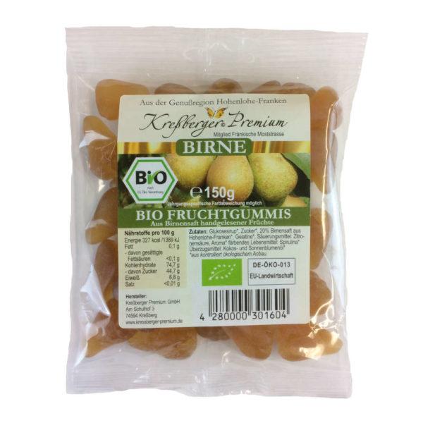 Kressberger Premium Birne BIO Fruchtgummi