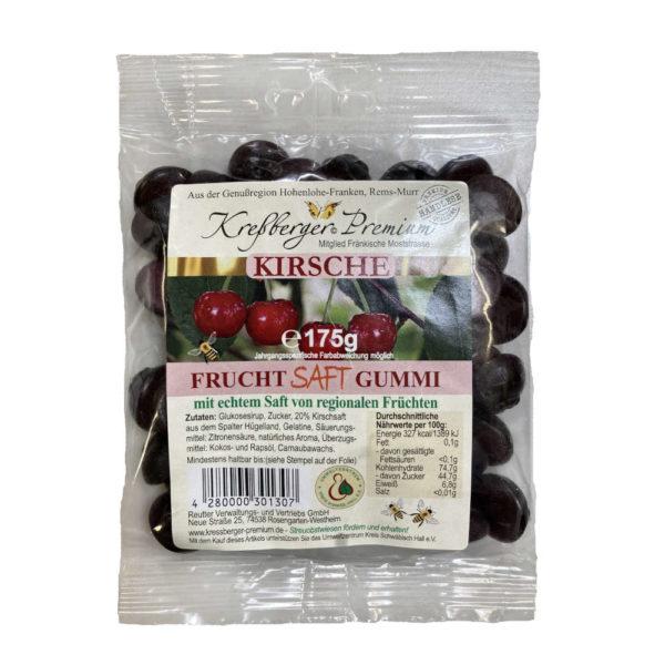 Kressberger Premium Kirsche Fruchtgummi